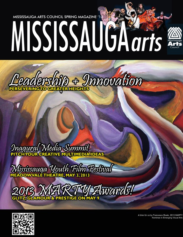 April 19 2013 morgan muscat featured in mississauga magazine